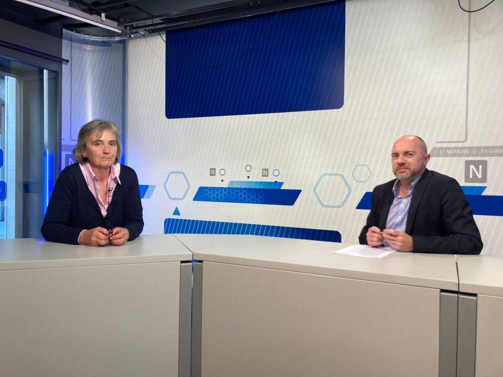 Entrevista de TV Girona a la Dra. Marga Nadal