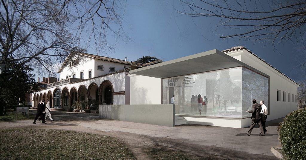 L'IDIBGI reforma l'edifici de la Mancomunitat del Parc Hospitalari Martí i Julià per consolidar la recerca biomèdica i en salut de Girona