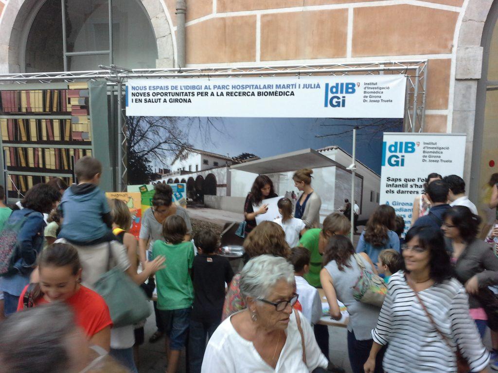 L'IDIBGI participa per primera vegada a la Nit de la Recerca de Girona