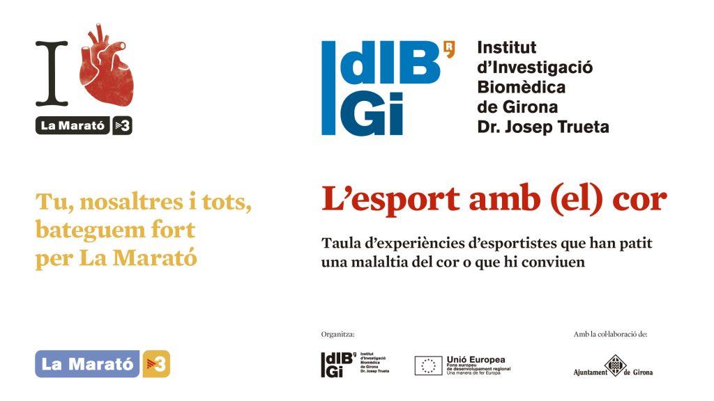L'IDIBGI col·labora amb la Marató de TV3