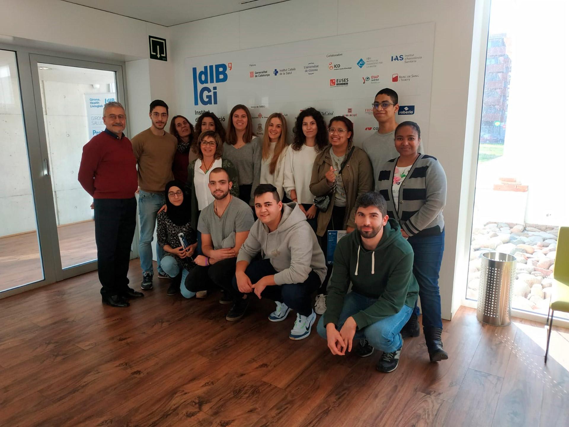 Visita d'estudiants de l'Institut Narcís Xifra | 2020