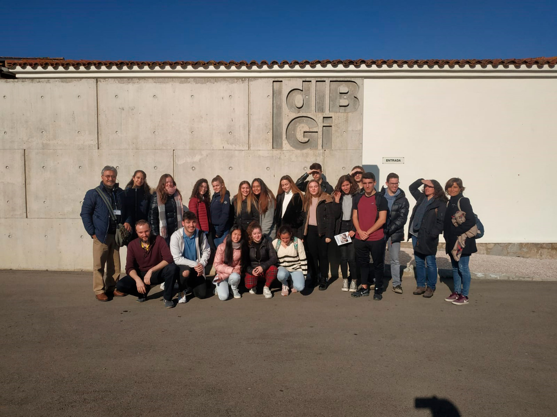 Visita d'estudiants de l'Institut Ramon Muntaner | 2020