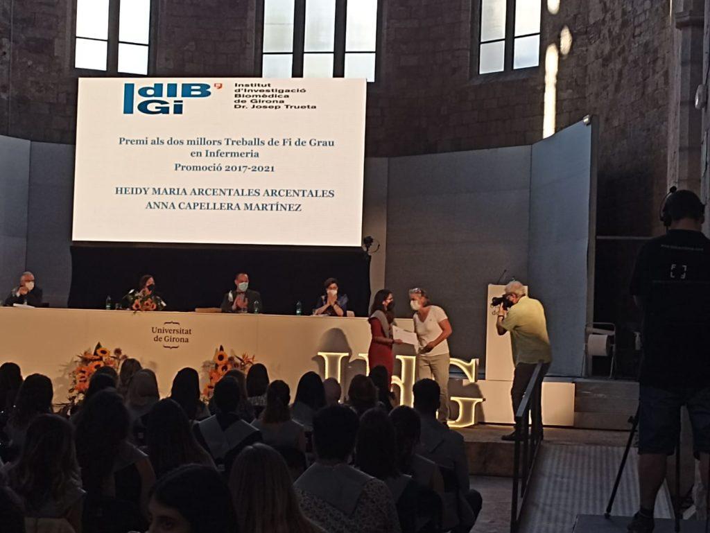L'IDIBGI entrega els Premis dels Treballs de Fi de Grau en Infermeria de la Universitat de Girona